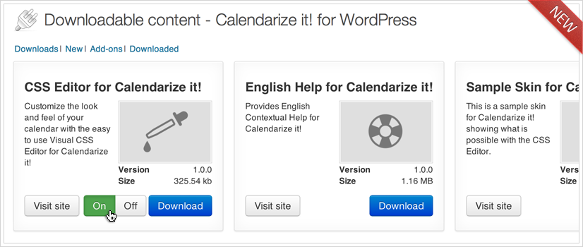 Calendarize it! Downloadable Content