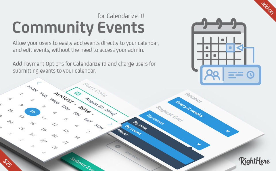 Community Events for Calendarize it!
