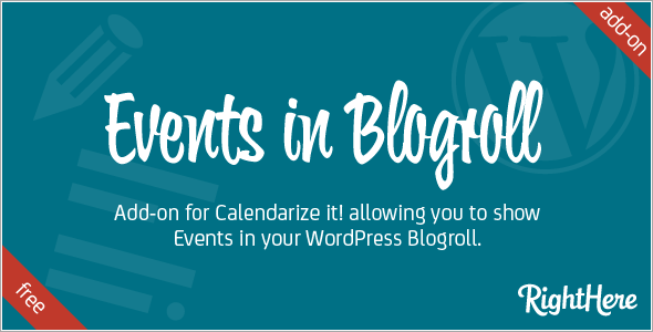 Events in Blogroll add-on for Calendarize it!