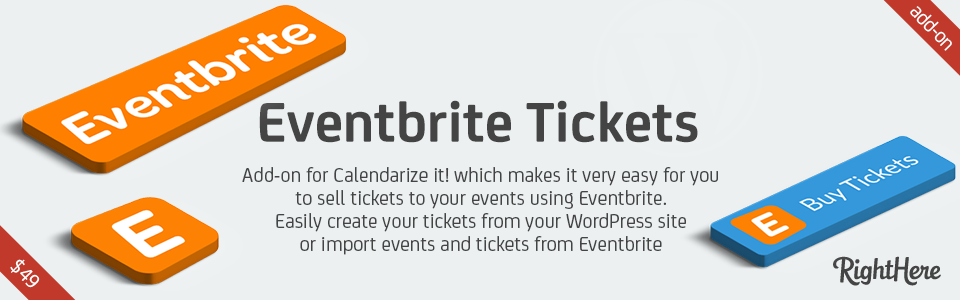 Eventbrite Tickets for Calendarize it!