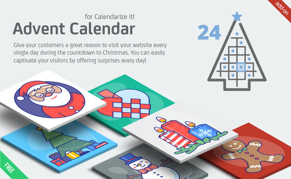 Advent Calendar for Calendarize it