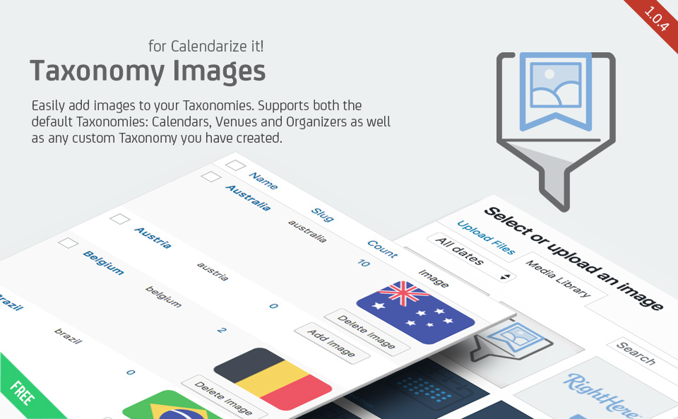 Taxonomy Images for Calendarize it!