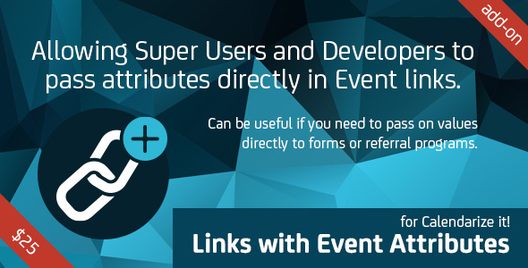 Links with Event Attributes for Calendarize it!