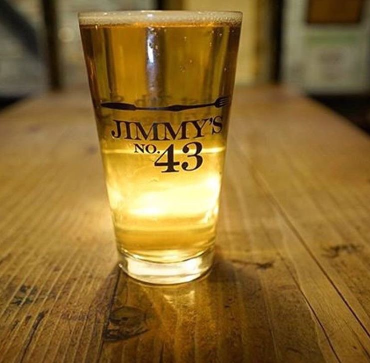 Beer at Jimmys No. 43